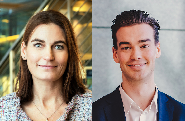 Abelias advokater Stian Kavli og Hanne Jahr Pedersen