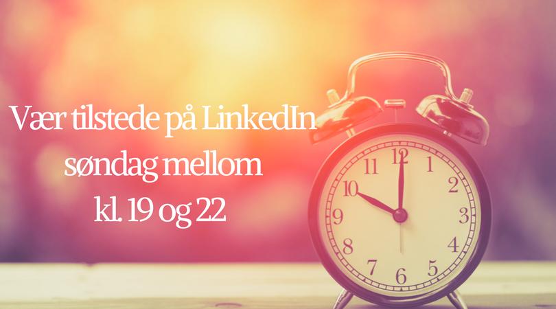 De fleste er på LinkedIn mellom 19 og 22 på søndager (1).png