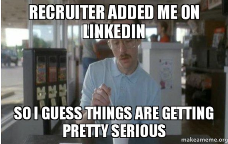 LinkedIn har blitt en plattform som kandidater bruker til å flørte med deg på